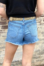 LUXE EASY AS CAN BE DENIM SHORTS