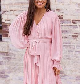 LUXE Follow Your Heart Pink Dress