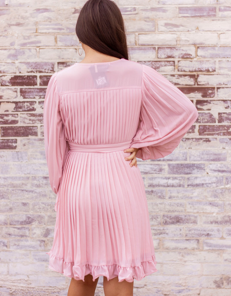 LUXE Follow Your Heart Pink Dress