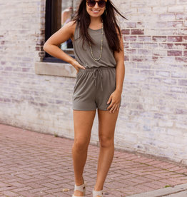 LUXE Think  A Happy Thought Romper