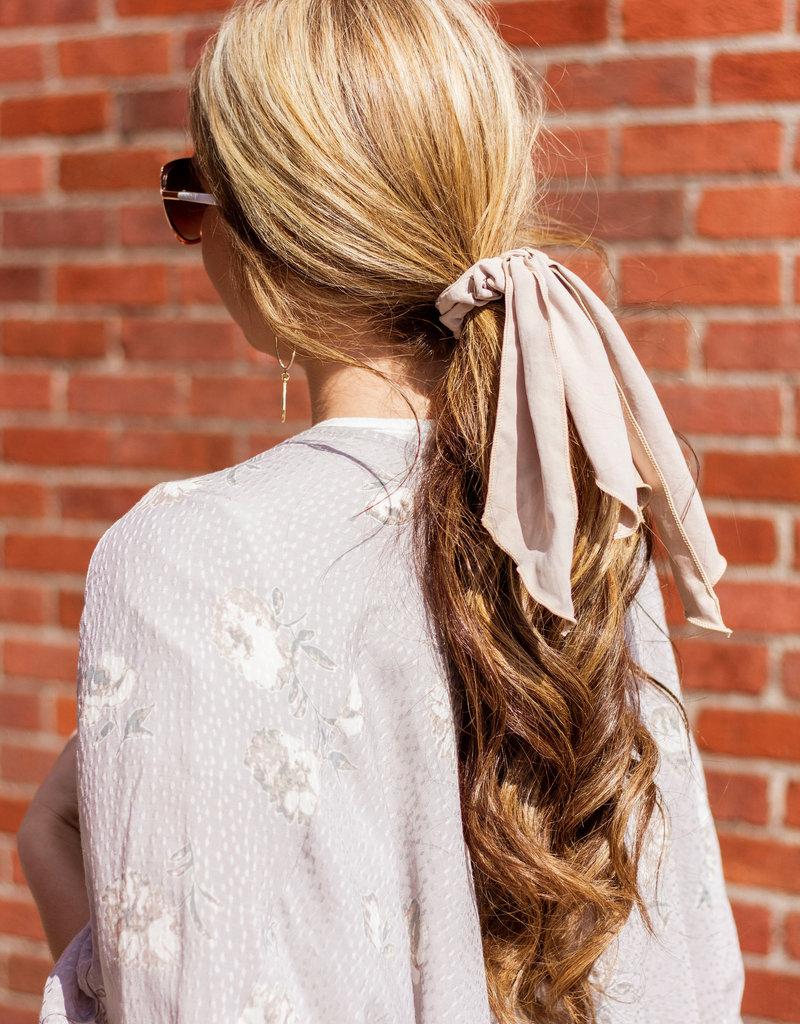 LUXE Riviera Hearts Grey Floral Kimono
