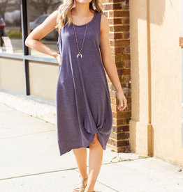 LUXE Set Yourself Free Navy Dress