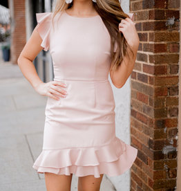 LUXE In Love With Friday Blush Dress