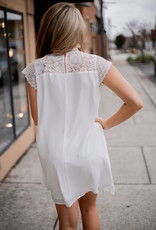 LUXE This Love Is Endless White Lace Dress