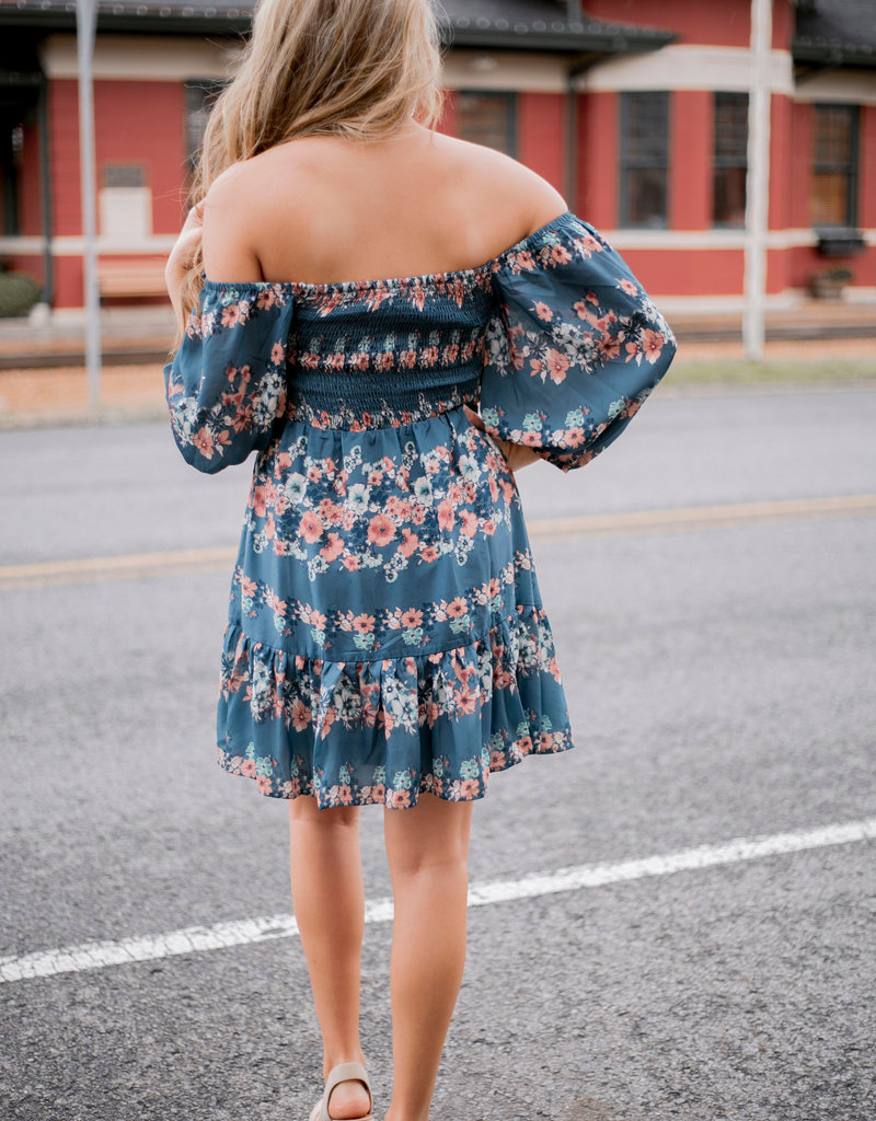 LUXE Just Between Us Floral Dress