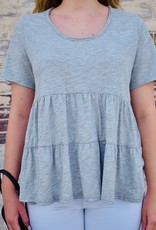 LUXE Give It A Whirl Babydoll Top
