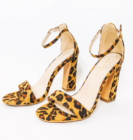 LUXE GRRRL POWER CHEETAH HEEL