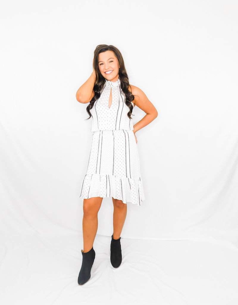 LUXE Loving You Is Fun White Dress