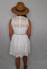 FANCO If I Had One Wish White Dress
