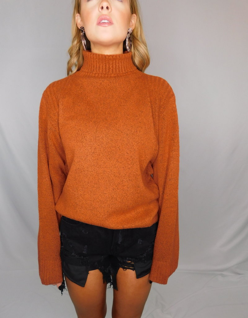 LUXE If You'll Love Me Nutmeg Sweater