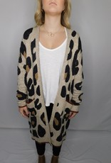 LUXE Out In The Wild Cheetah Cardigan