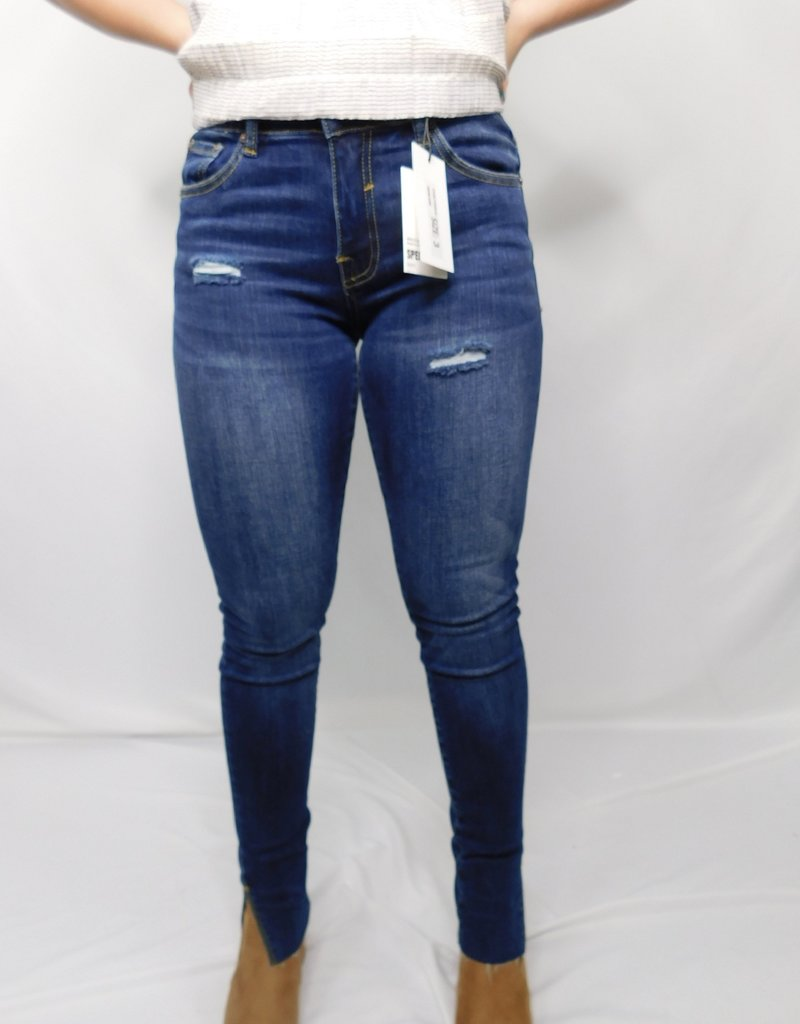 LUXE Run Away With Me Dark Wash Jeans