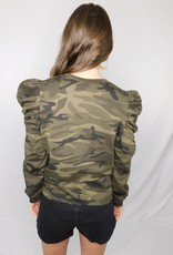 LUXE Nothing But The Best Camouflage  Top