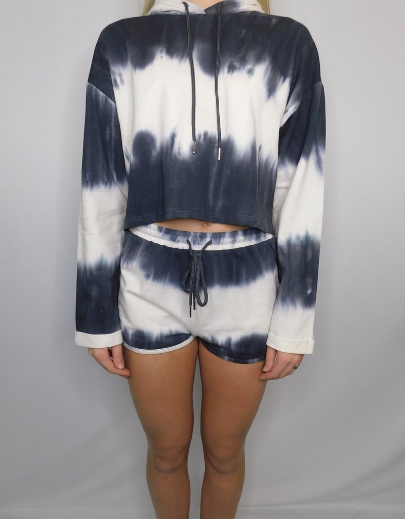LUXE Leave A Legacy Tie Dye Shorts