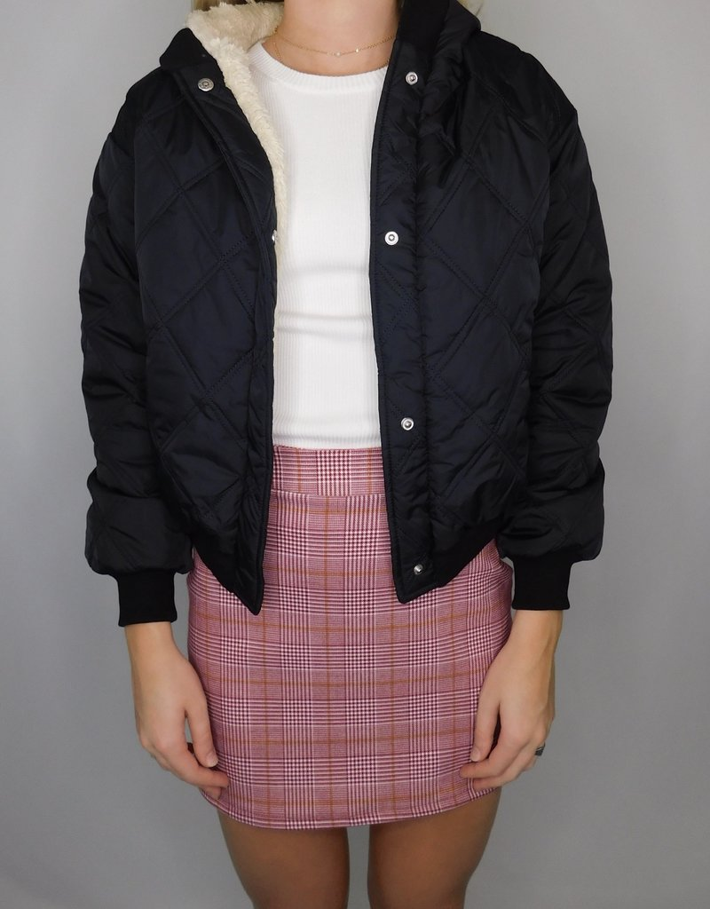 LUXE Let's Go Anywhere Together Black Jacket
