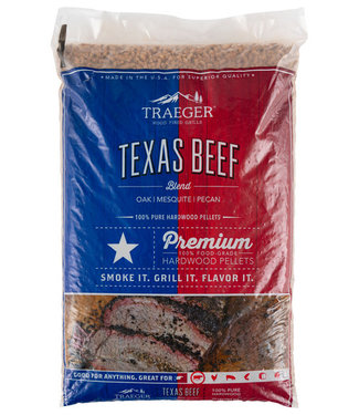 Traeger Wood Fire Grill Traeger Texas Beef  Blend Pellets Kit