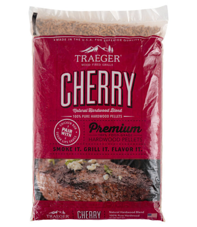 Traeger Wood Fire Grill CHERRY BBQ WOOD PELLETS