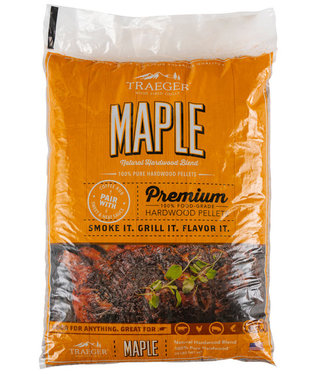 Traeger Wood Fire Grill Maple BBQ Wood Pellets