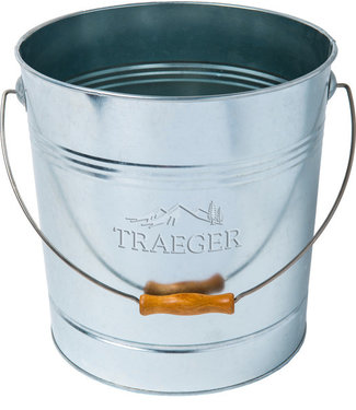 Traeger Wood Fire Grill Pellet Storage - Metal Bucket
