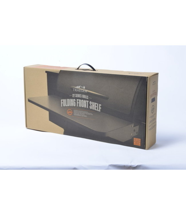 Traeger Wood Fire Grill FRONT FOLDING SHELF - 20 SERIES