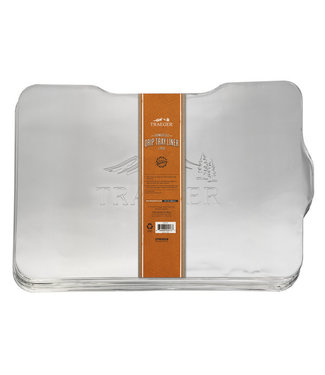 Traeger Wood Fire Grill DRIP TRAY LINER - 5 PACK - IRONWOOD 650