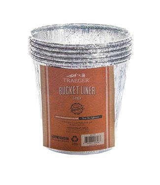 Traeger Wood Fire Grill BUCKET LINER 5 PACK BAC407