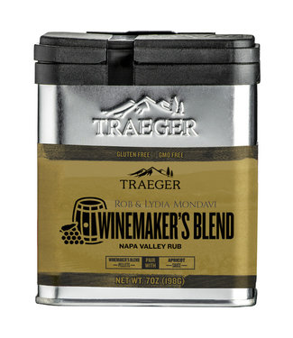 Traeger Wood Fire Grill WINE MAKERS BLEND NAPA VALLEY RUB