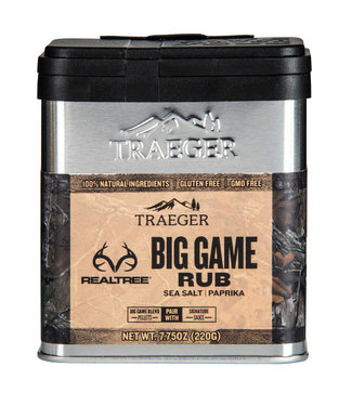 Traeger Wood Fire Grill REALTREE BIG GAME RUB