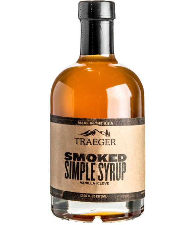 Traeger Wood Fire Grill SMOKED SIMPLE SYRUP