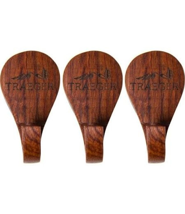 Traeger Wood Fire Grill TRAEGER MAGNETIC WOODEN HOOKS 3 PC BAC366