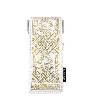 SHOT Shot Darts Insignia Dart Case - Viking White with Gold Detailing