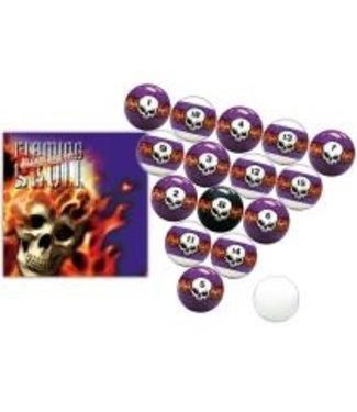 Flaming Skull Ball Set