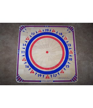 prodart 300 Prodart Red & Royal  Blue Dartboard