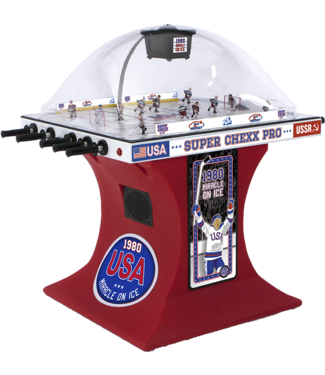 Super Chexx Miracle on Ice Edition Super Chexx Pro with Black Base