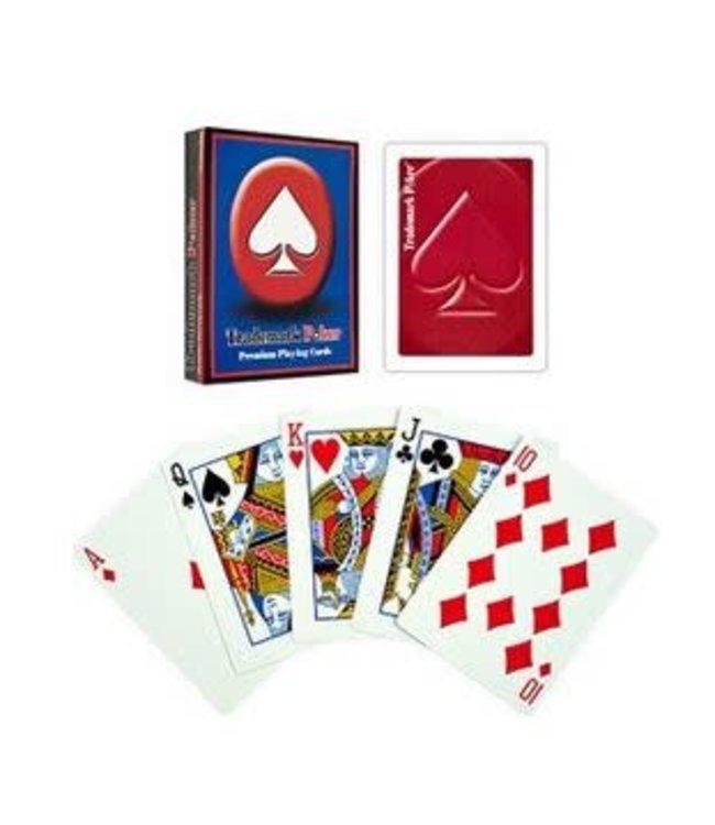 Trademark Poker Premium Playing Cards - Red