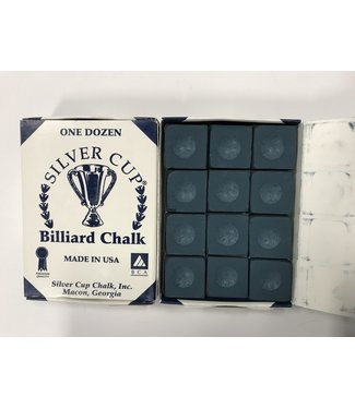 SILVER CUP Silver Cup Chalk Navy Box of 12