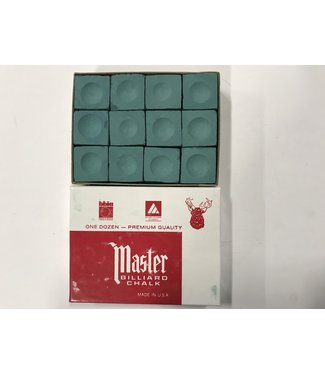 Master Master Chalk Forest Green Box of 12