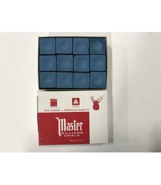Master Master Chalk Blue Box of 12