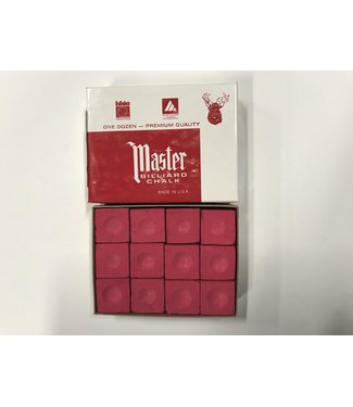 Master Master Chalk Red Box of 12