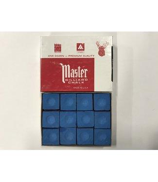 Master Master Chalk Sky Blue Box of 12