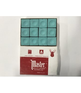 Master Master Chalk Light Green Box of 12