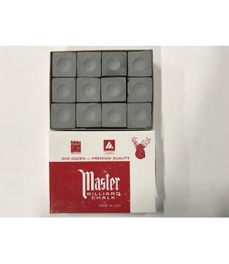 Master Master Chalk Grey Box of 12