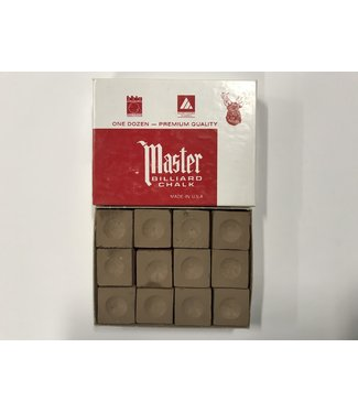 Master Master Chalk Brown Box of 12