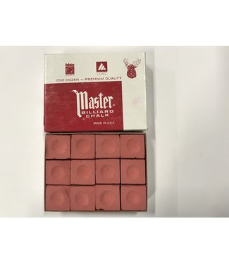 Master Master Chalk Rust Box of 12