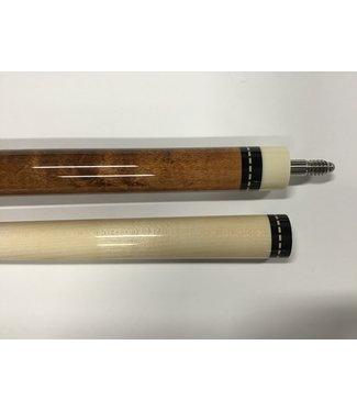 Pechauer JP03-Q Pechauer Brown Cue Stick 12 3/4mm