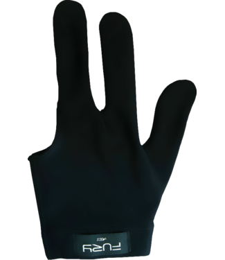 fury Black Billiard Gloves