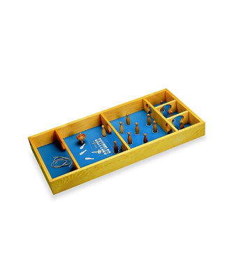 Carrom Carrom Skittles – Spinning Top Board Game