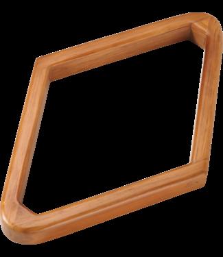 9 Ball Wooden Rack Diamond - Maple