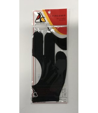 Pro Series Pro Series Billiard Pool Glove for Left/Right Handed Players- L Large, Black