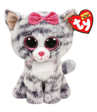 "Beanie Boos Kiki Kitten Cat 6"" Plush Stuffed Animal"